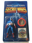 Marvel Super Heroes Secret Wars Captain America Action Figure Mattel 1984 Sealed