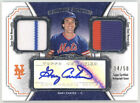 New York Mets 10 Card Game Used Quad Patch & Booklet Pedro Martinez Carter Auto