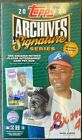 2020 TOPPS ARCHIVES SIGNATURE SERIES BASEBALL RETIRED PLAYER EDITION SEALED BOX