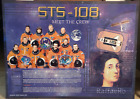 STS 108 ENDEAVOUR PRIMARY OBJECTIVE MISSION CREW 30 X 40 GLOSSY ARTISTIC BOARD