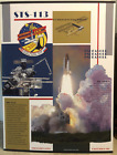 STS 113 ENDEAVOUR PRIMARY OBJECTIVE MISSION CREW 30 X 40 INFORMATIVE BOARD