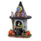 NWT! 2020 Lemax Spooky Town 'Witches Brew Coffee' Mini Village Halloween Decor