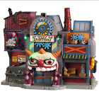 NIB! 2020 Lemax Spooky Town 'Hideous Harry's Toy Factory' Mini Village Halloween