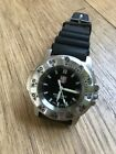 Luminox all stainless steel 200m military divers watch mod 3200 navy seals