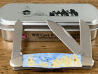2009 RARE CASE XX 63046 NATIVITY BONE HANDLE HUMBACK STOCKMAN POCKET KNIFE