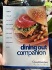 Weight Watchers Winning Points Dining Out Companion SoftCover Book 2003