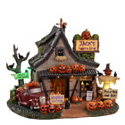 NEW! 2020 Lemax Spooky Town 'Jack's Pumpkin Farm' Mini Village Halloween Decor