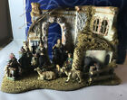 Dept 56 Neapolitan A Christ Is Born Nativity 10pc Set in Original Box