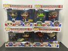 FUNKO POP! LOT OF 4 GAMERVERSE MARVEL VS CAPCOM INFINITE EXCLUSIVES INCLUDED