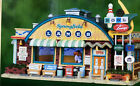 Lemax Plymouth Corners ~ SPRINGFIELD LANES (Bowling Ally) ~ Christmas Village