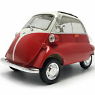 118 Scale Vintage 1955 BMW Isetta Model Car Diecast Vehicle Collection Gift Red