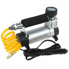 100psc Heavy Duty Portable Air Compressor Car Van Tyre Tire Inflator Pump 12V