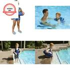Poolmaster Learn to Swim Swimming Pool Tube Float Trainer Blue