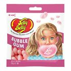 BUBBLE GUM Jelly Belly Candy Jelly Beans 12 BAGS 1 CASE FRESH  TASTY