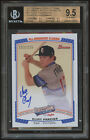 2012 Bowman Perfect Game All-American Clint Frazier Auto RC Rookie 235 BGS 9.5