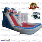 20x13ft Commercial Inflatable Shark Bounce House  Water Slide With Air Blower