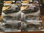 4 2020 Hot Wheels Premium FAST AND FURIOUS 71 PLYMOUTH GTX REAL RIDERS