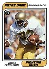Notre Dame, Upper Deck Sign Multi-Year Exclusive Trading Card Deal 16