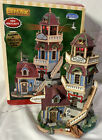 Lemax Plymouth Corners ~ BAY VIEW LIGHTHOUSE ~ Lit Christmas Village Building