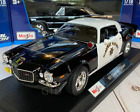 1971 Chevrolet Camaro Z28 Police Maisto 118 Scale Diecast Model Car New in Box