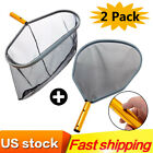 Swimming Pool Cleaning Net Leaf Skimmer Rake Tool Deep Bag without Pole