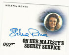 Helena Ronee JAMES BOND 007 Spectre Edition 2016 Autograph Card Auto A290