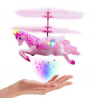 Flying Unicorn Drone Toys Gifts for Girls Age 6 7 8 9 14 Years Old Pink Mini Ha