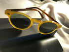 New OLIVER PEOPLES glasses OV5186 Gregory Peck 47 mm YellowBrown Green Italy