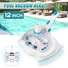 12 Swimming Pool Vacuum Suction Tank Head Cleaning Brush Pool Cleaner Tool US
