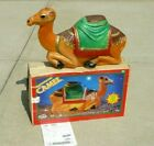 Vintage Empire 28 Christmas Nativity Manger Camel Blow Mold Lighted w Box