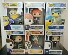 Funko pop lot of 6. Harry Potter, Borderlands, Dr. Who, Minions, Inside Out.