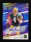 2020 Donruss Retro Series Brett Favre Autograph 10 SSP RARE Green Bay Packers