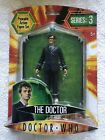 Official BBC Dr Who Series 3 The Doctor With Glasses Action Figure David Tennant