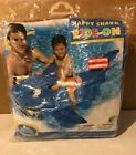 2009 INTEX THE WET SET BIG INFLATABLE HAPPY SHARK RIDE ON POOL BEACH FLOAT TOY