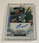 Yoenis Cespedes Autographs Coming From Topps 3