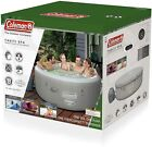 Coleman Saluspa 71 x 26 Tahiti Airjet Inflatable Hot Tub Spa 4 Person Jacuzzi