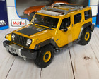 JEEP Rescue Concept Tactical Emergency Vehicle Maisto 118 Scale Toy Car NEW