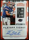 Panini Confirms 2010 Playoff Contenders Tim Tebow Inscription Variations 6