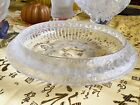 FABULOUS ICONIC LALIQUE CRYSTAL MARGUERITES CENTERPIECE BOWL PERFECTION