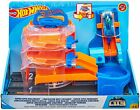 Hot Wheels City Super Spin Dealership Connects to other sets NEW Ships Free