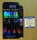 Signed WILL SMITH Autographed MEN IN BLACK VHS COVER BECKETT BAS COA