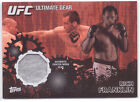 Rich Franklin Cards and Autographed Memorabilia Guide 18