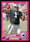 Pink Panther: Elusive Cam Newton Leads Pink 2011 Topps Football Set 16