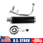 GY6 50CC Performance Exhaust Muffler For Scooter Moped 4 Stroke 139QMB 1P39QMB
