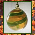 James Hayes Signed Hand Blown Glass Ornament Friendship Wishing Ball Suncatcher