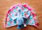 Rare Ty Flashy the Peacock Beanie baby. 5.5 in. Mint condition. With Tag.