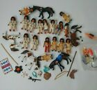 Vintage Playmobil Native American Indian Tribe w Horses papoose Custom Toy Set