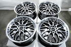 17 Black Wheels Rims Fit Honda Accord Civic CRV HRV Pilot Kia Forte Sedona Soul