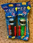 PEZ Retired NASCAR CHICAGOLAND & INTERSTATE Racing Helmets - Mint In Package