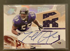 TERRELL SUGGS 2003 UD Spx ROOKIE JERSEY AUTOGRAPH AUTO RC 595 1100 RAVENS
